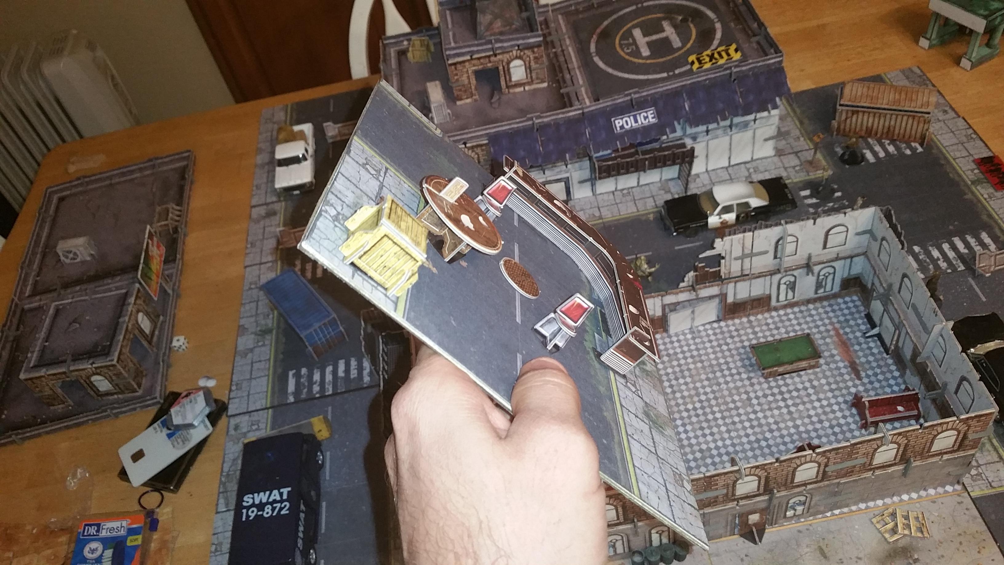 Modular City Tiles - Urban Apocalypse Wargaming