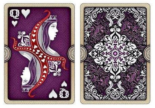 ornate playing cards