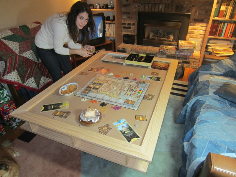 Home Built Gaming Table Boardgamegeek Boardgamegeek