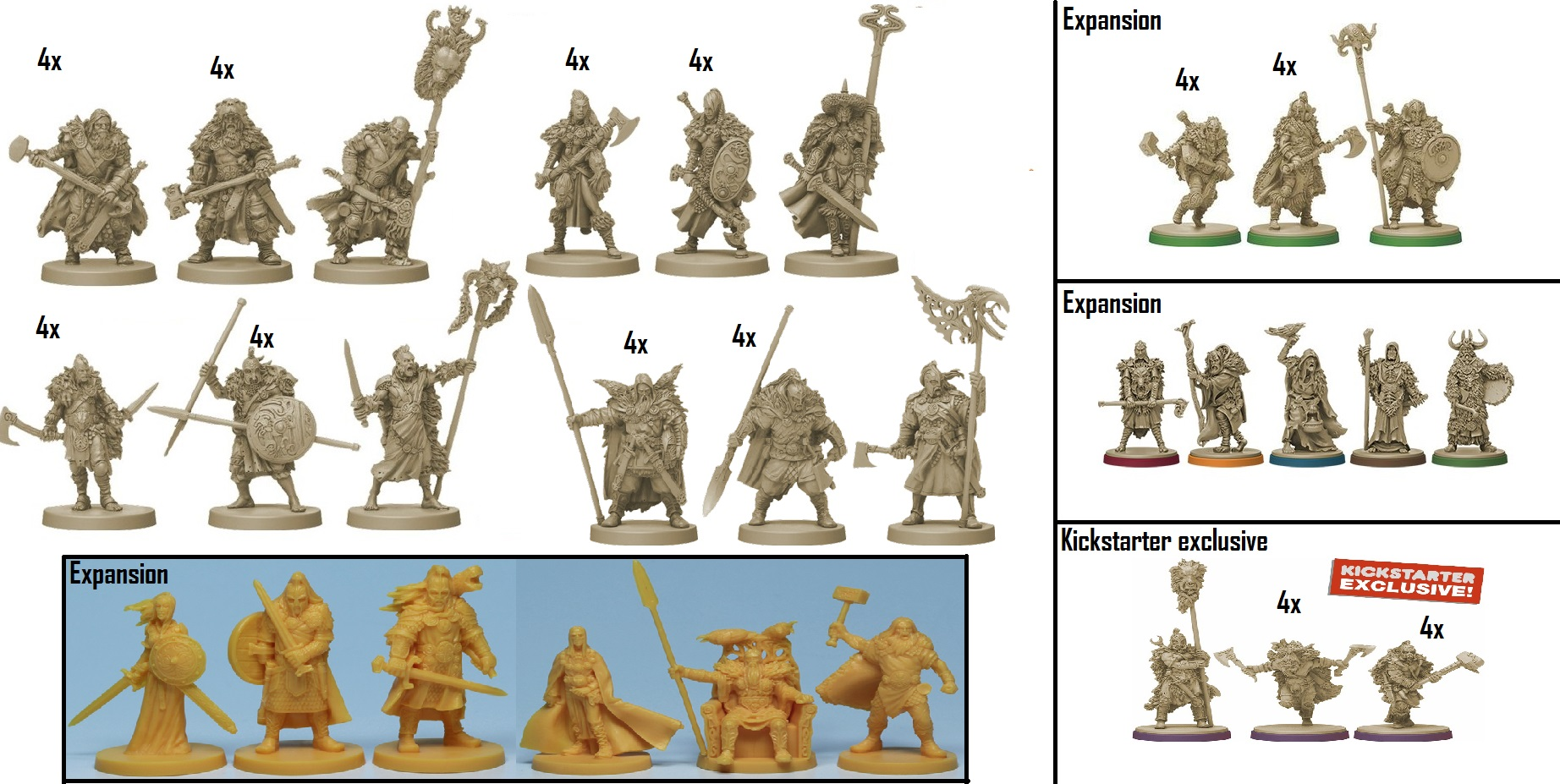 Dark Sword Miniatures | A Song of Ice & Fire: Tabletop Miniatures
