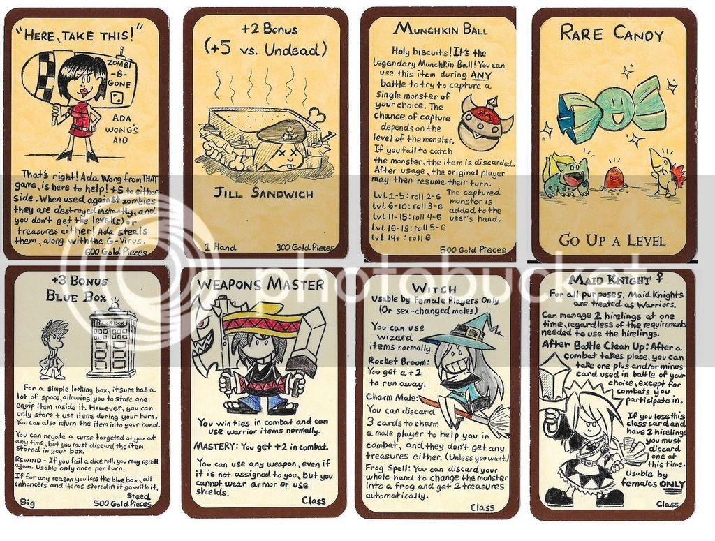 Cloudhead's Munchkin-Bit Custom Cards | Munchkin | BoardGameGeek