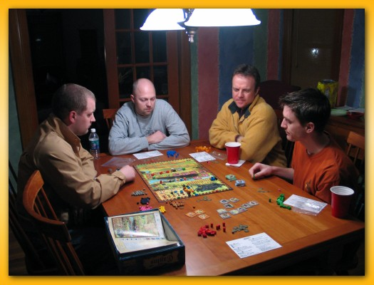 The Geeklist Of Game Rooms BoardGameGeek - Board game dining room table