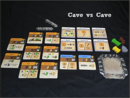 Story Board reviews Cave vs Cave | Caverna: Cave vs Cave | BoardGameGeek
