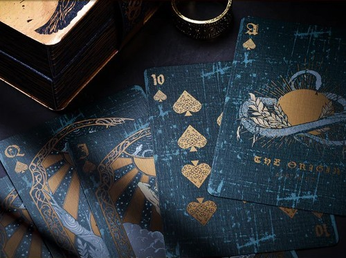 The Origin playing cards