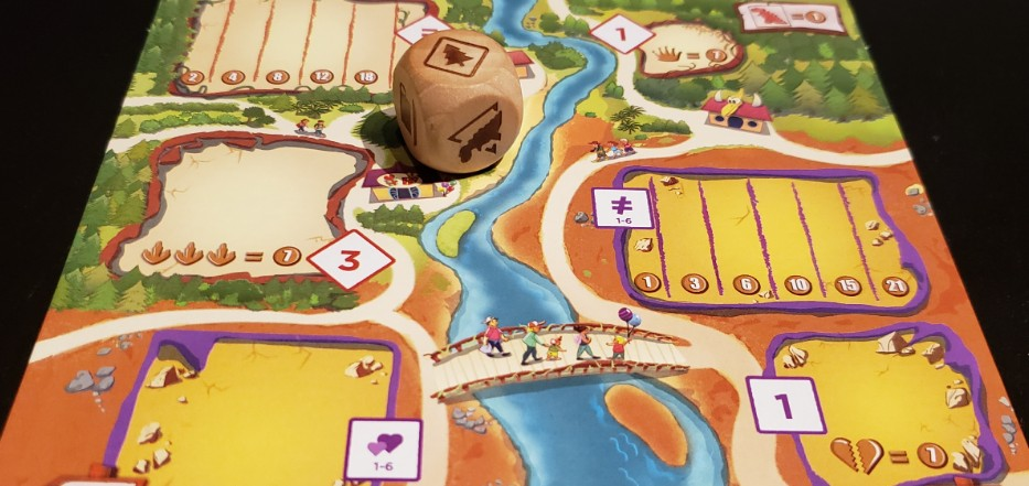 Board Game Box Draftosaurus Party Game Dinosaurs