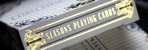 seasons playing cards