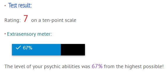 Psychic Test