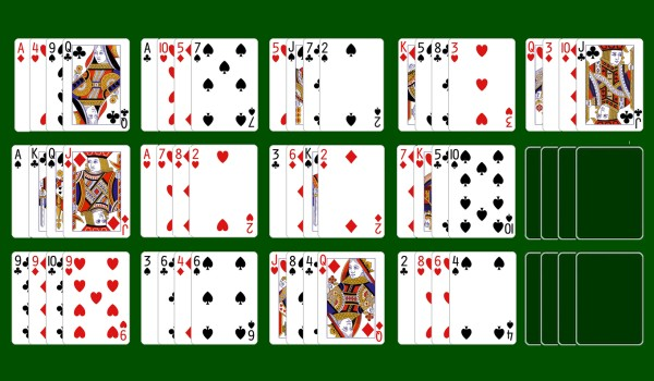 Pile Up (Fifteen Puzzle) solitaire