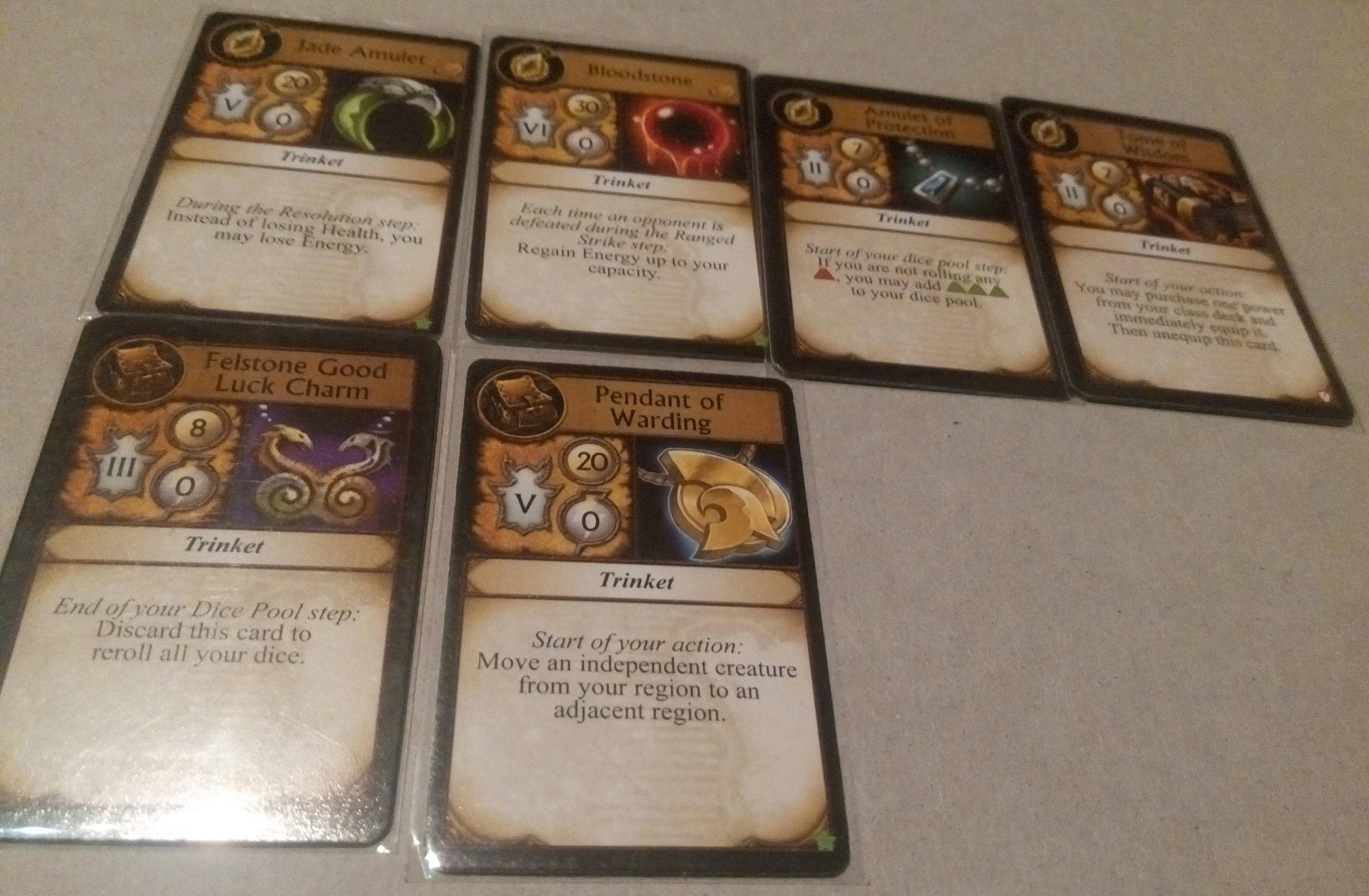 Amulet of Protection | World of Warcraft: The Boardgame | BoardGameGeek