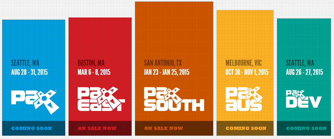 Dates Have Appeared On Www Paxsite Com