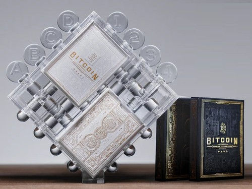 Bitcoin Puzzle playing cards