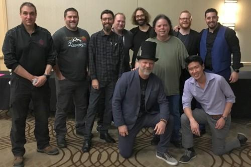 Steve Brooks and friends