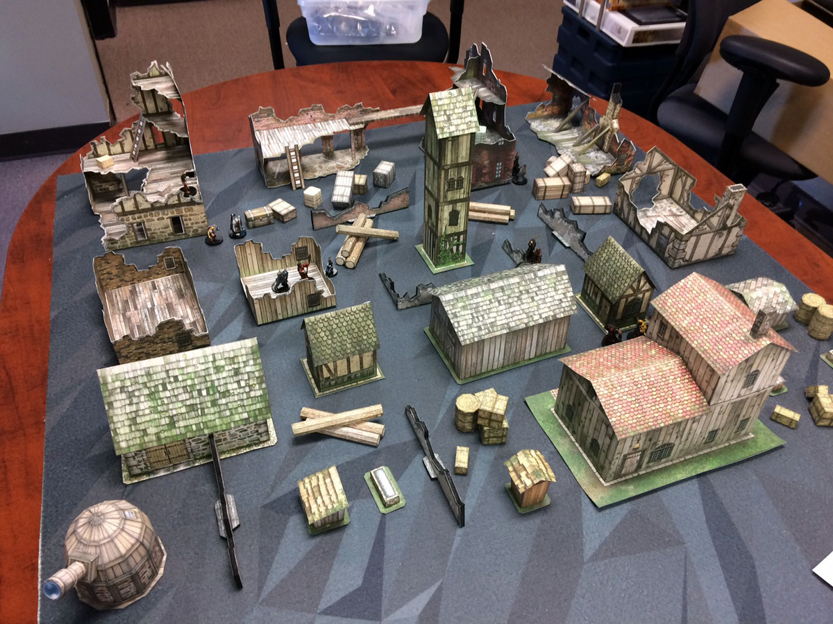 What are you using for terrain?   Frostgrave   BoardGameGeek