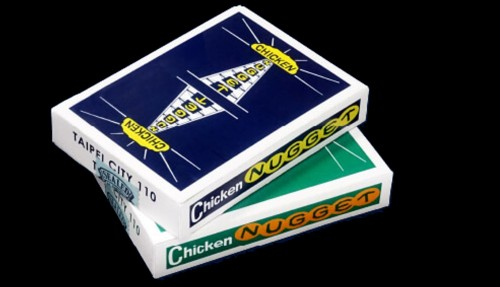 Chicken Nugget Playing Cards