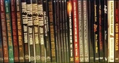 magic books 和 dvds