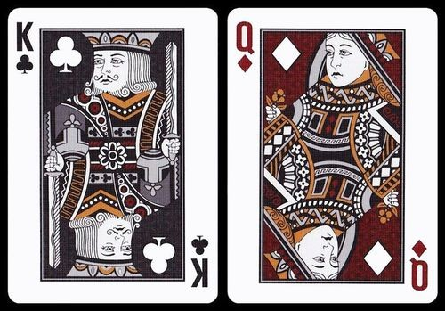LUXX Elliptica playing cards