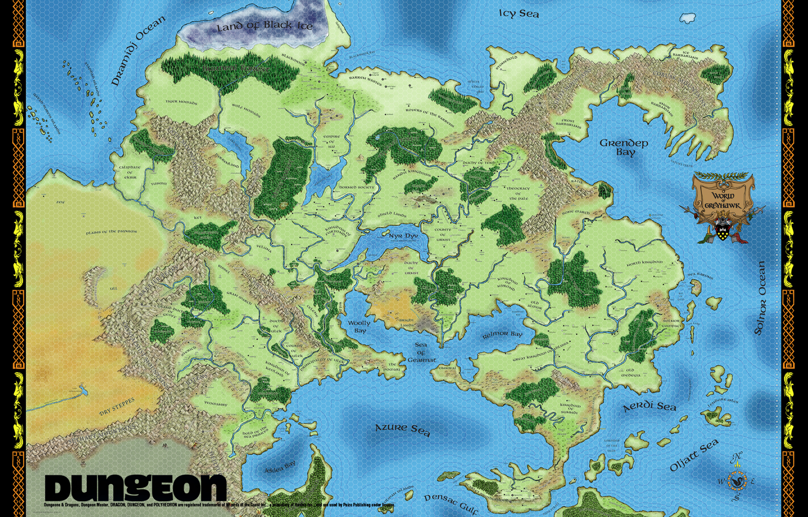 Maps and more but especially maps the world of greyhawk rpggeek gumiabroncs Gallery