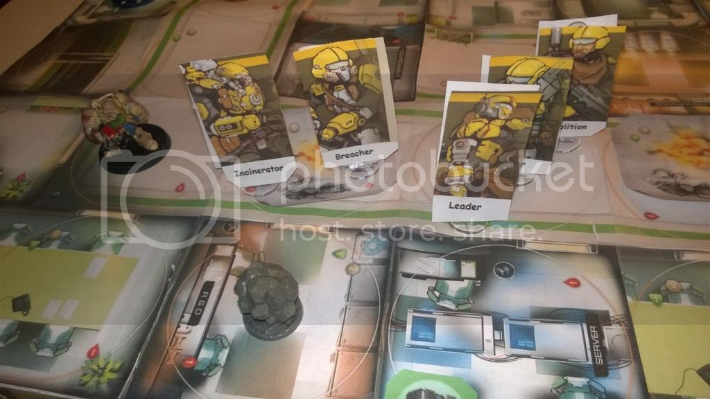 The Collateral Damage Of Testing >> Testing Rules With My Own Print And Play Mercs Recon Counter
