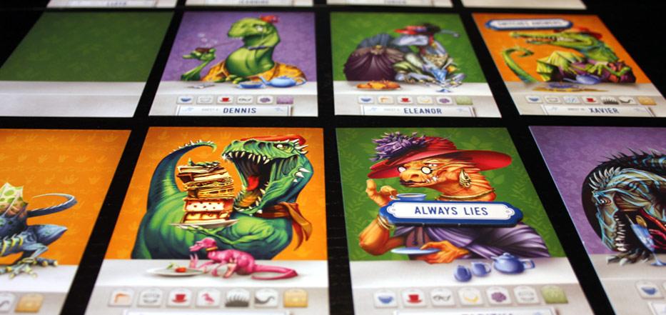 one board family review dinosaur tea party dinosaur tea party
