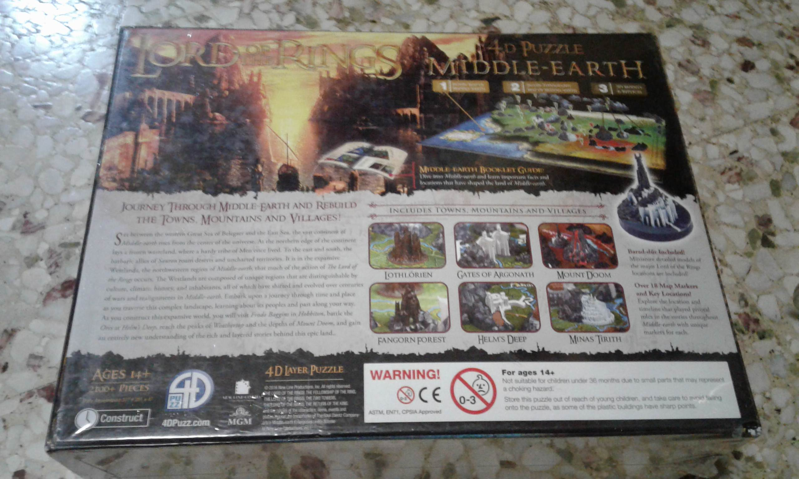 4D Puzzle Middle Earth | War of the Ring (Second Edition
