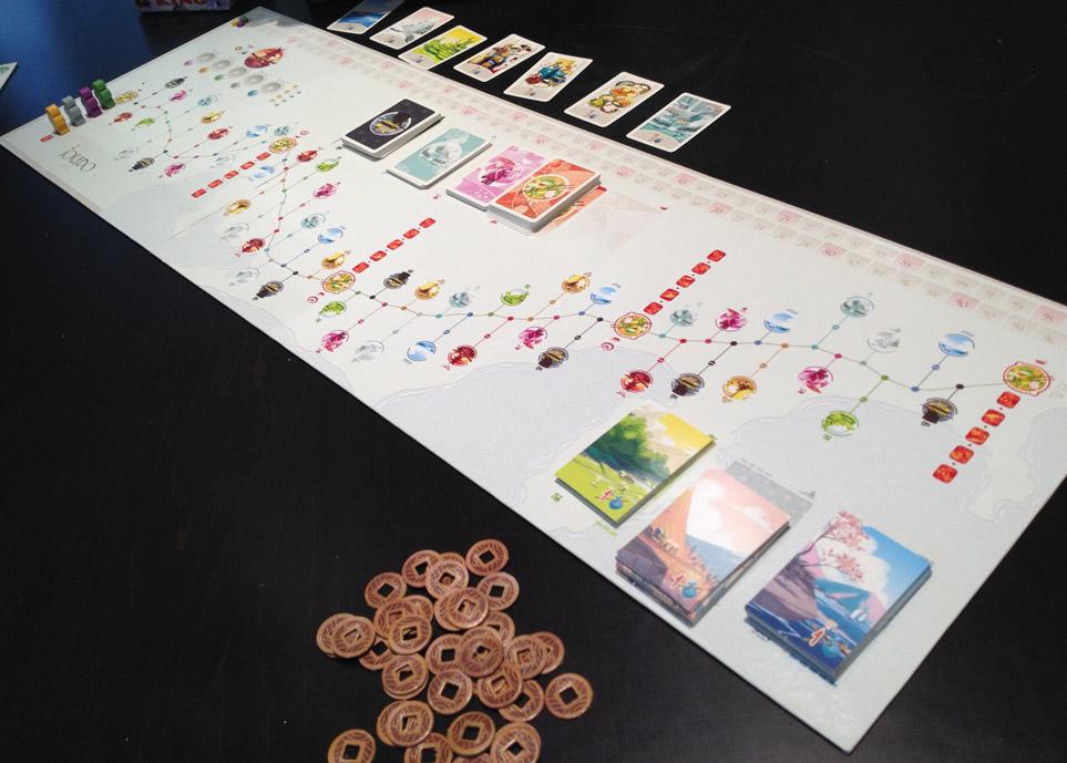 Tokaido Board Game Flat River Group TKD-5TH-US01