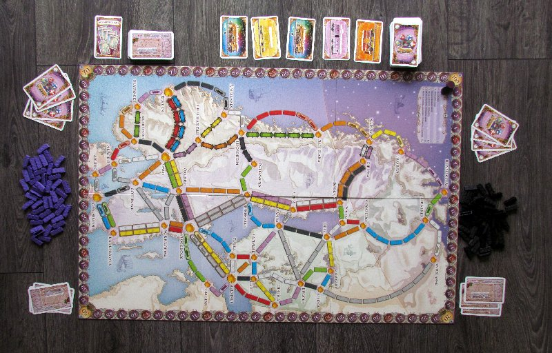 New Ticket to Ride Nordic Countries Board Game Days of Wonder