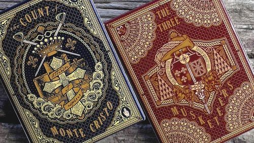 playing cards based on books