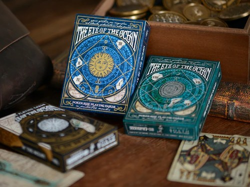 The Eye of the Ocean playing cards