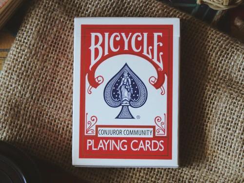 Conjuror Community Club playing cards