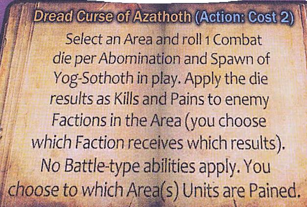 Dread Curse of Azathoth Clarification | Cthulhu Wars | BoardGameGeek