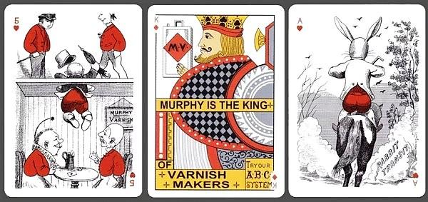 murphy varnish playing cards