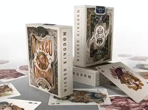 Wicked Kingdom playing cards