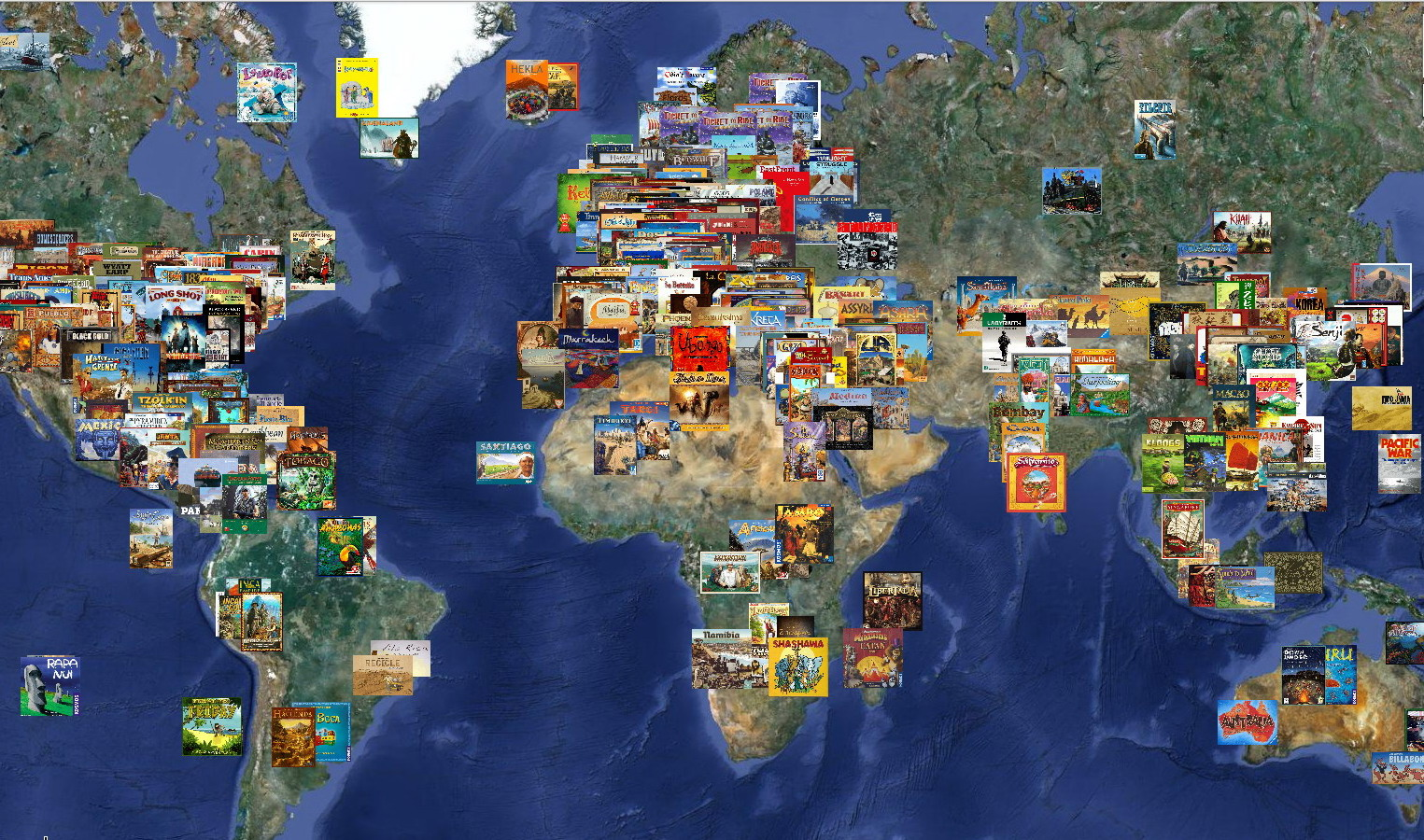 World map of board games boardgamegeek gumiabroncs Gallery
