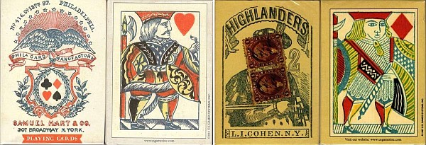 vintage reproduction playing cards