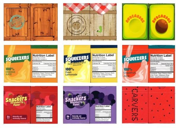 organic playing cards