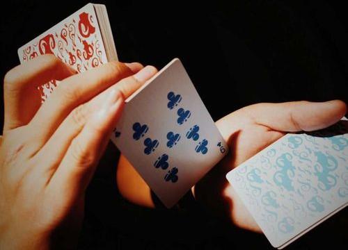 Fujin & Raijin Playing Cards