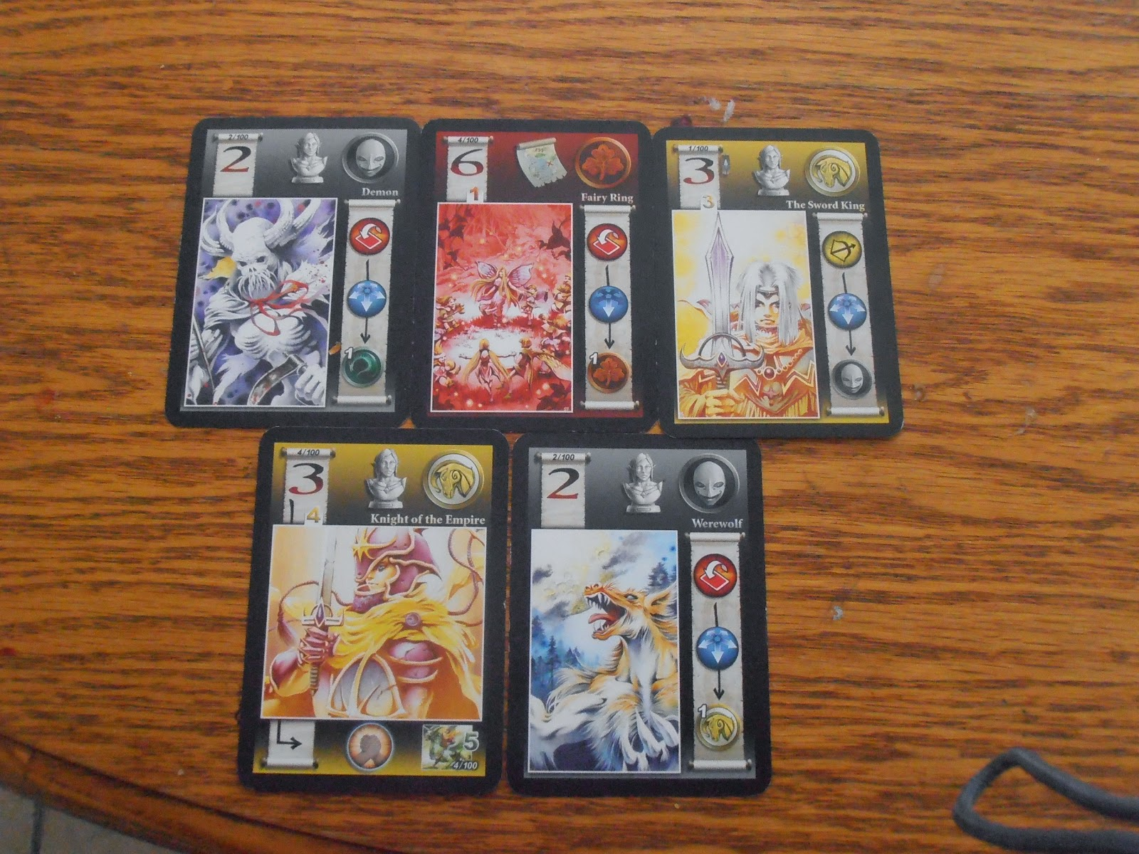 Fairy Tale - A Quick 2-5 Player drafting game that