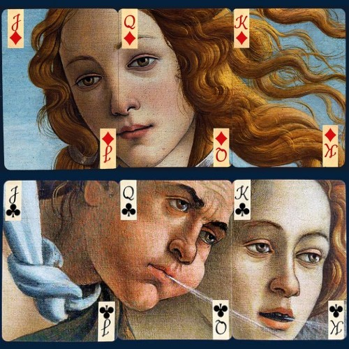 Birth of Venus Puzzle Playing Cards
