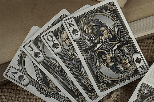 Hercules playing cards