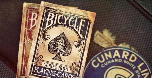 Vintage Bicycle deck