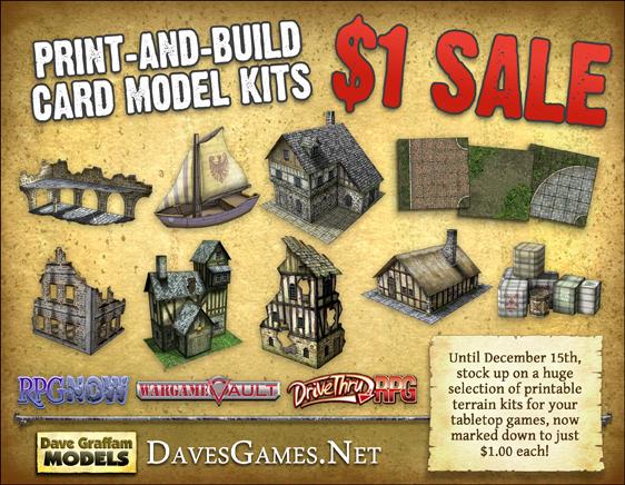 image regarding Printable Terrain identify Dave Graffam Products: Wargame and RPG printable terrain sets