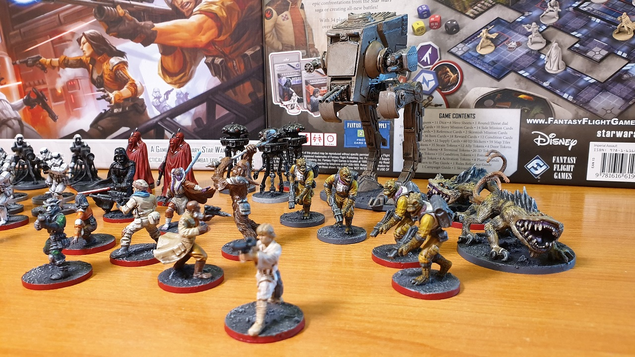 My painted Imperial Assault | Star Wars: Imperial Assault