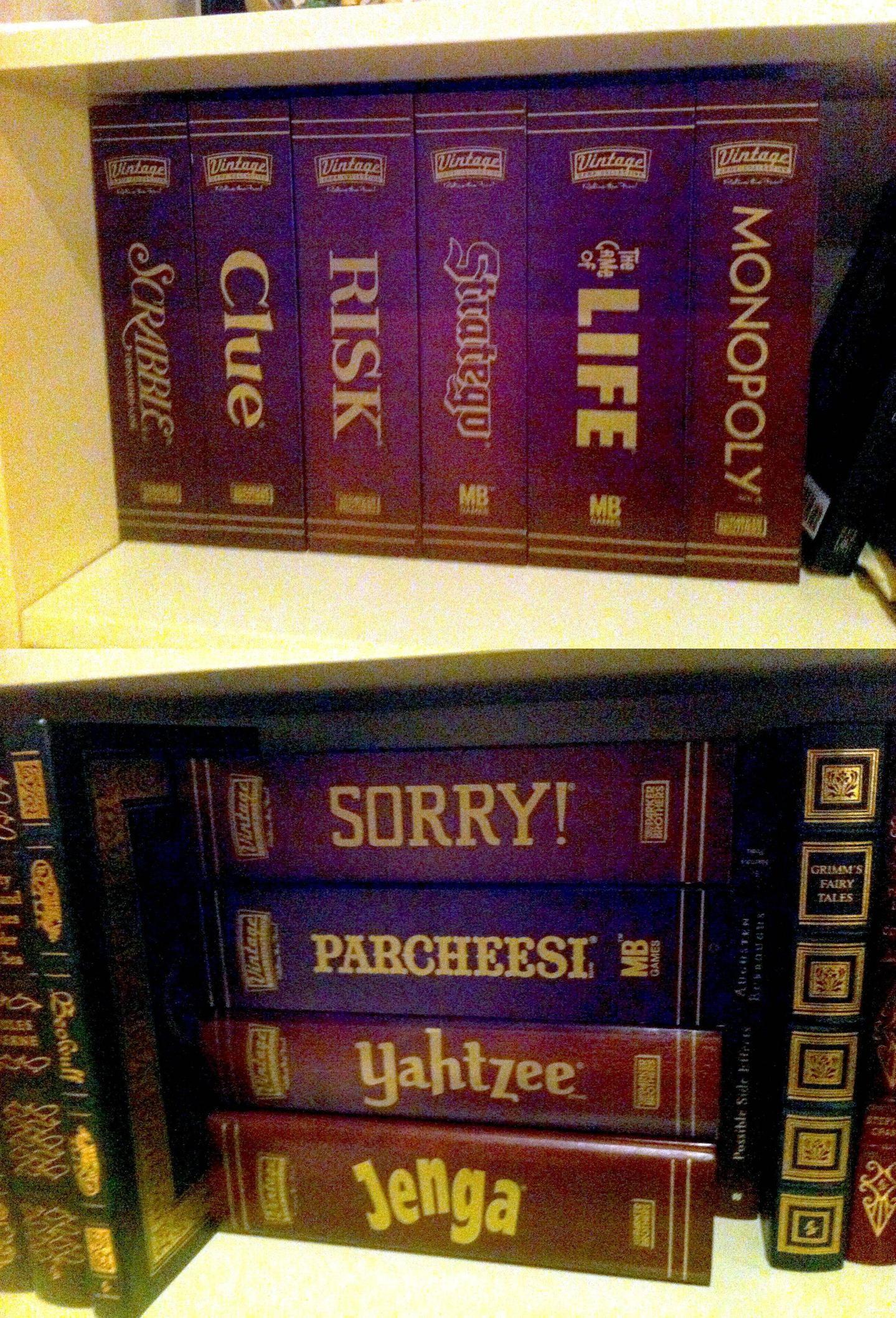Vintage Parker Bros Game Collection Circa 2006 Wooden Box