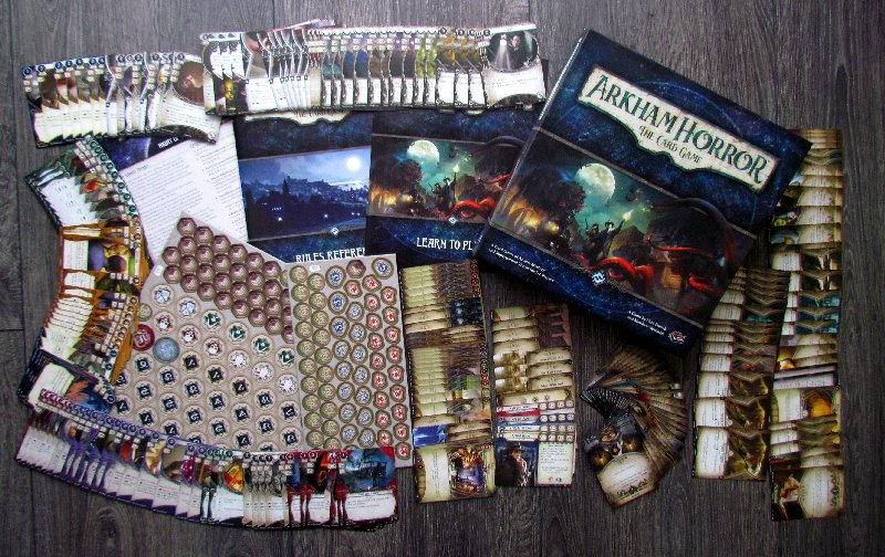 Review #633 by Deskovehry: Arkham Horror: The Card Game
