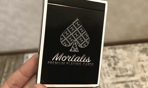 Mortalis playing cards