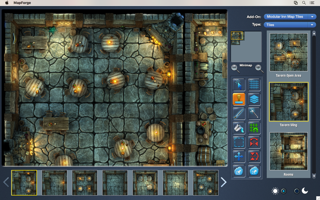Indiegogo] MapForge battlemap creation software for RPGs