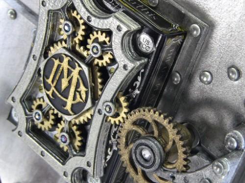 Mechanical 3D Metal playing cards