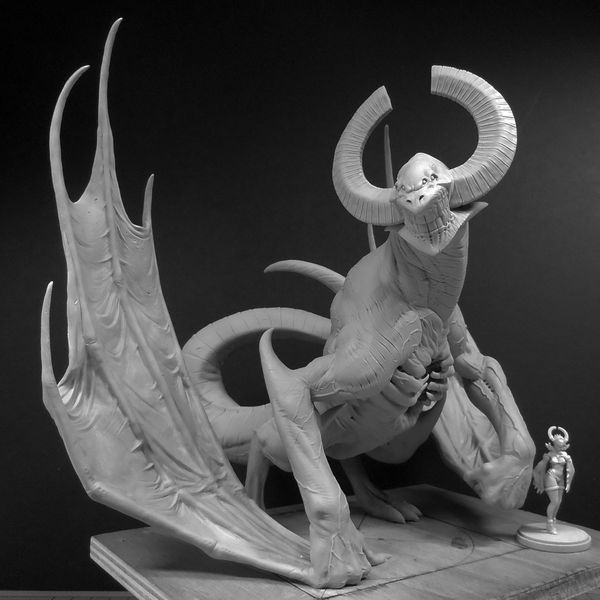 Comparison Shots Of The Full Sized Dragon King