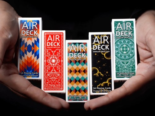 Air Deck 3.0 playing cards