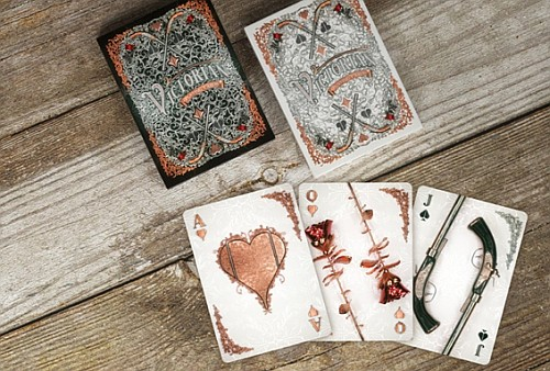 Victorian playing cards
